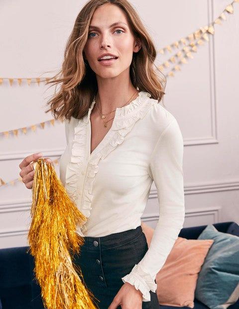 Alberta Jersey Shirt - Ivory