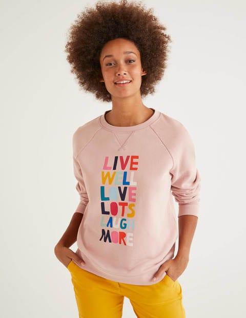 Das Sweatshirt Pink Damen Boden, Pink