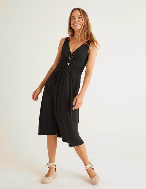 Effie Jersey Dress - Black