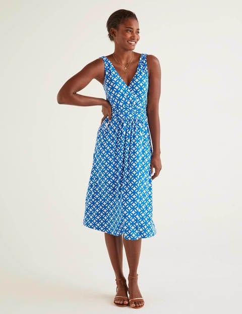 boden - Effie Jerseykleid Blue Damen , Blue