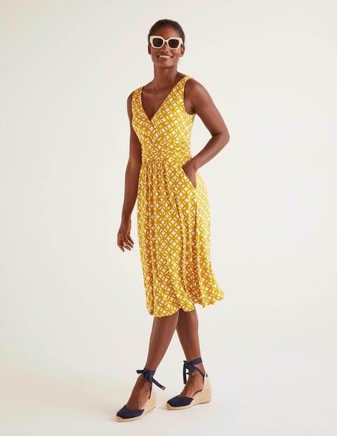 Effie Jersey Dress - Tuscan Sun, Link