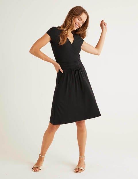 Black Lola Jersey Dress