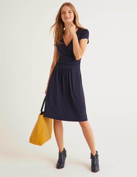 Navy Lola Jersey Dress