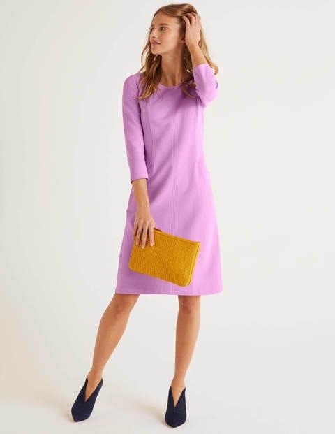 Ellen Ottoman Dress - Lupin