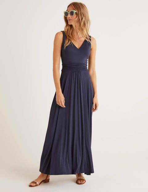 Sienna Jersey Maxi Dress - Navy