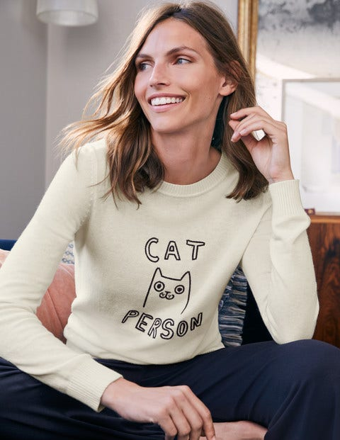 Estella Jumper - Cat person