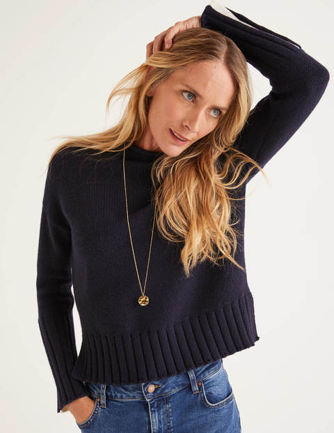 Hereford Cosy Jumper - Navy