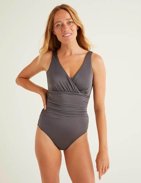 Talamanca Swimsuit - Shiny Titanium