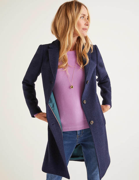 Stanhope Coat - Navy