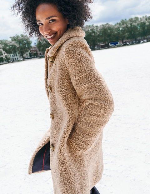 Cowell Teddy Coat