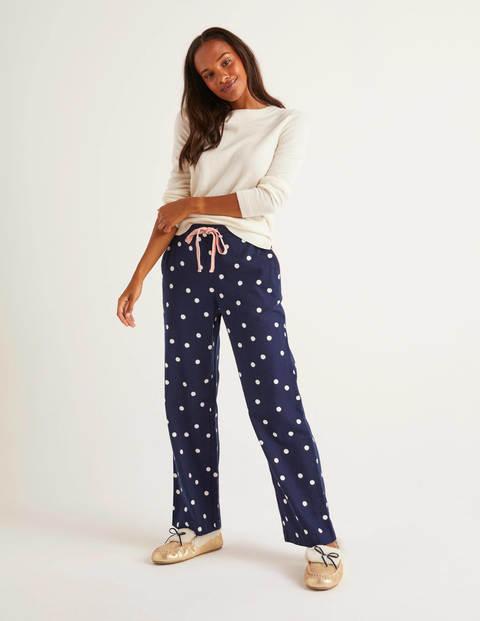 Vanessa Cosy Pants - French Navy, Brand Polka Dot