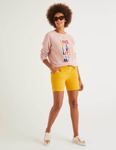 Daisy Chino-Shorts - Sonnengelb