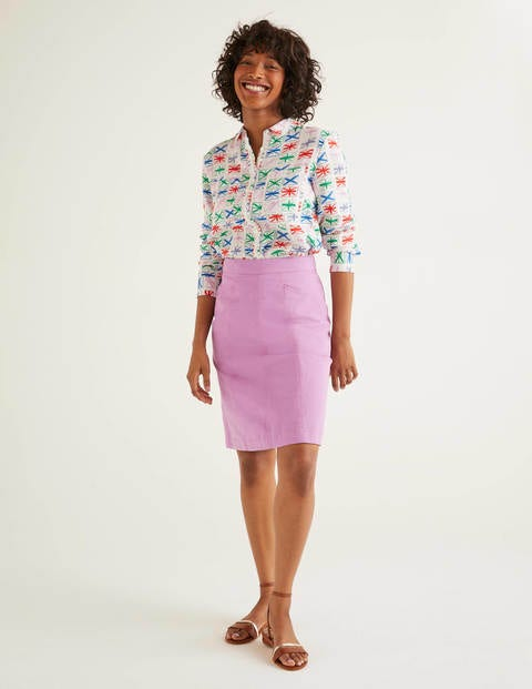 Daisy Chino Skirt - Lupin