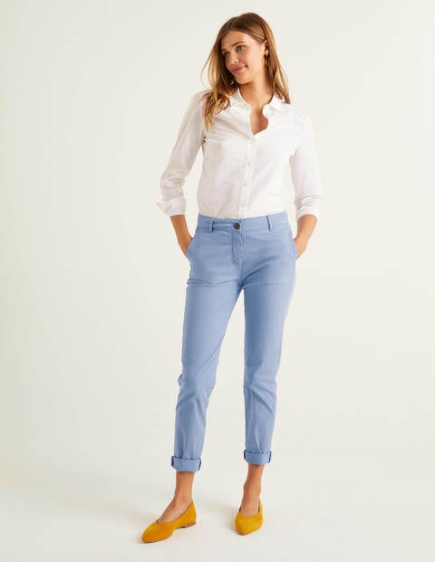 Daisy Chino Trousers - Sea Mist