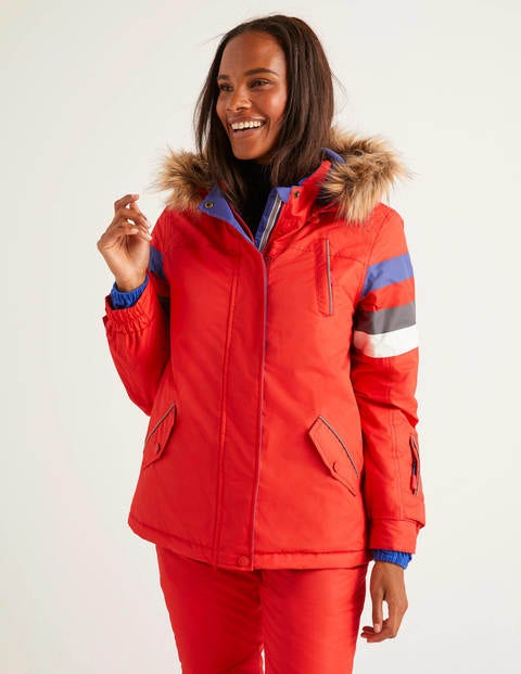 Innsbruck Ski Jacket - Post Box Red
