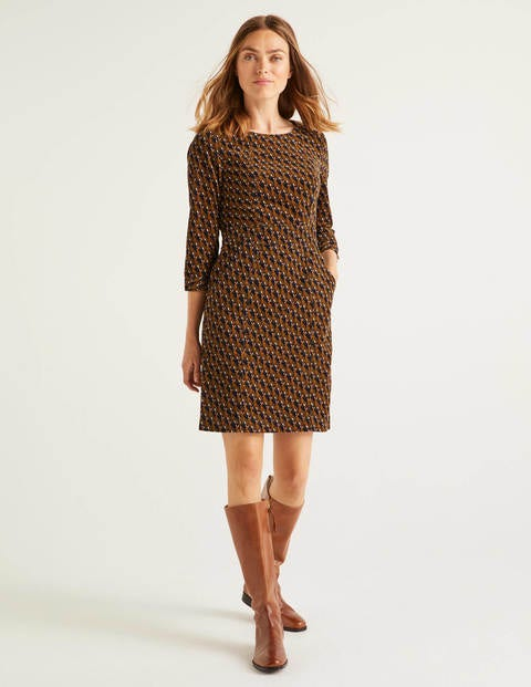 Coraline Dress - Camel, Country Hare
