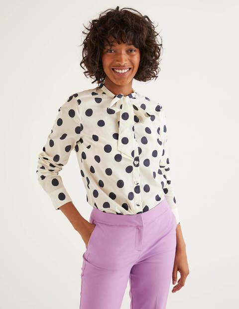 Keira Bow Neck Shirt