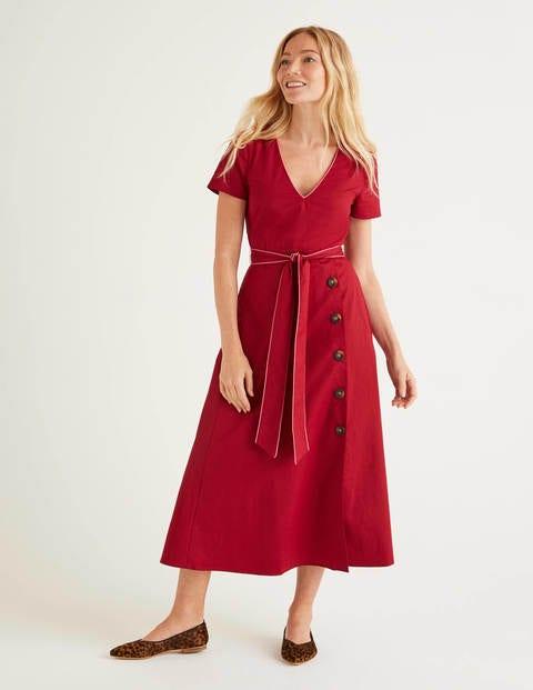 Daisy Kleid mit Knopfdetail