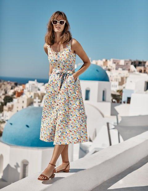 Joanna Button Through Dress