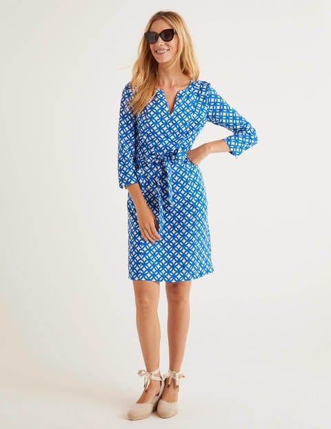 Kelsey Linen Tunic - Bold Blue, Link