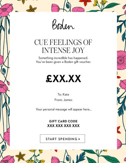 E Gift Voucher - Bloom