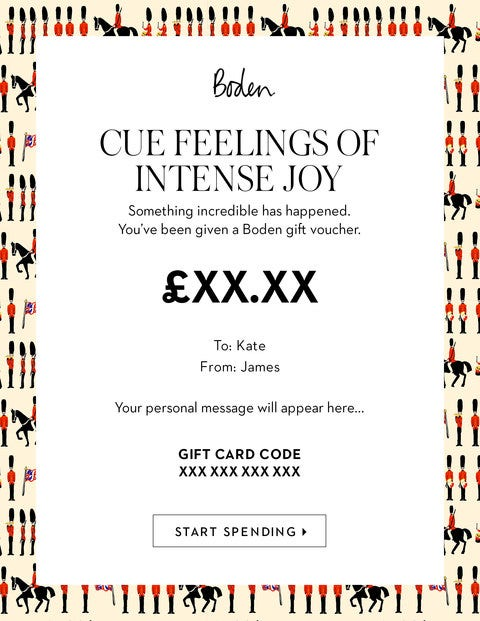 E Gift Voucher - Soldiers