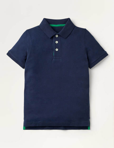 Piqué Polo Shirt - College Navy