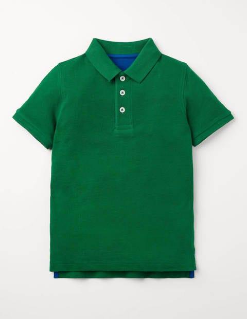 Piqué-Poloshirt - Waldgrün