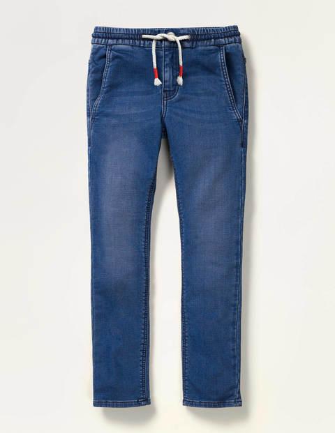 Schmal geschnittene Jersey-Jeans
