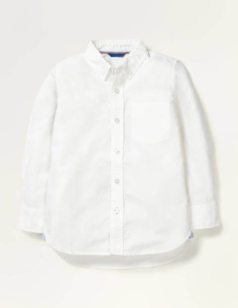 Oxford Shirt - White Oxford