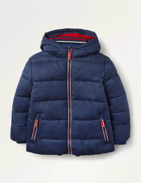 Shower-Resistant Padded Jacket