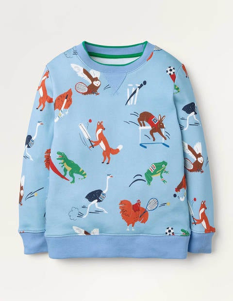 Sporty Animal Sweatshirt