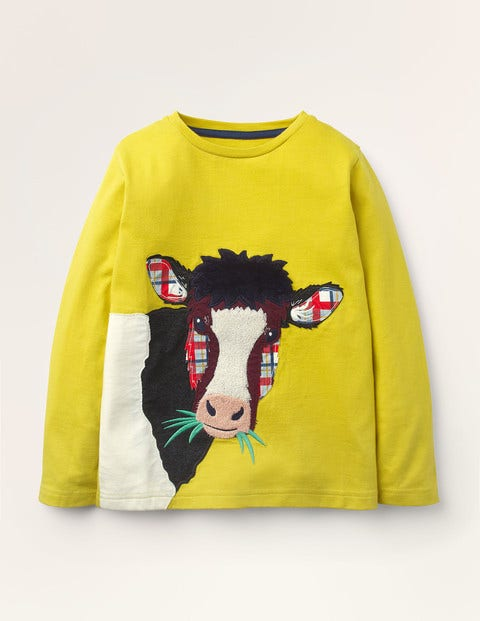 Farm Animal Appliqué T-shirt
