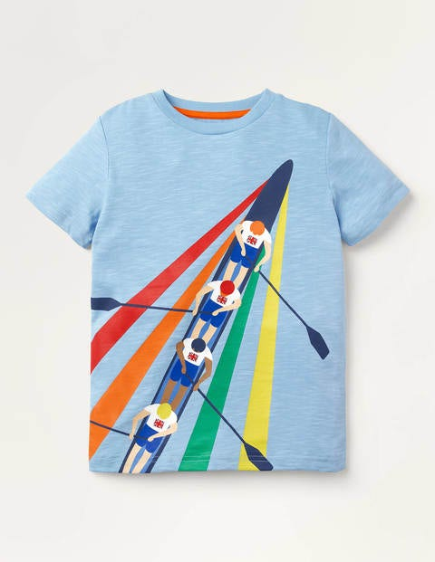 Sporty Graphic T-shirt