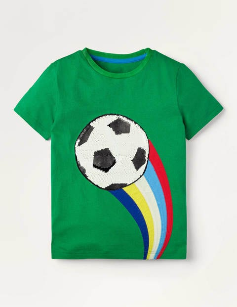Sporty Sequin T-shirt - Highland Green Sport