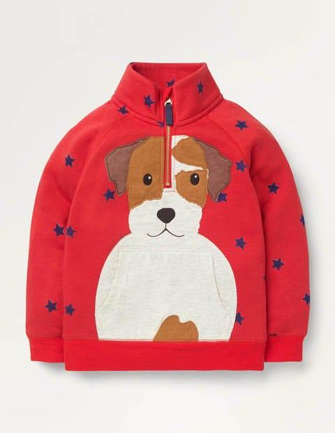 Cosy Half-zip Sweatshirt