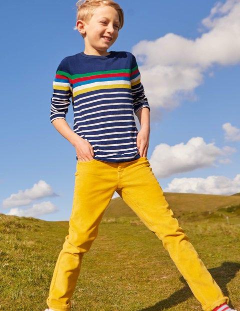 Fun Breton T-Shirt - Starboard Blue Rainbow