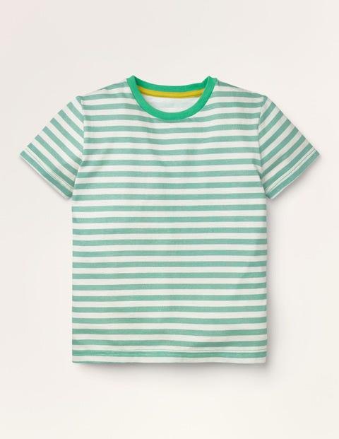 Vorgewaschenes T-Shirt aus Flammgarn