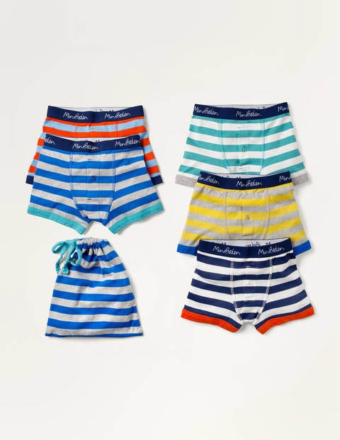 Boxers 5 Pack - Multi Stripes