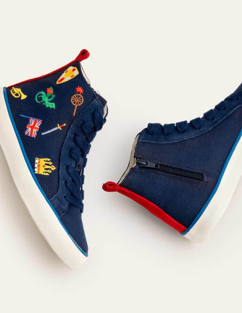 High Tops - College Navy