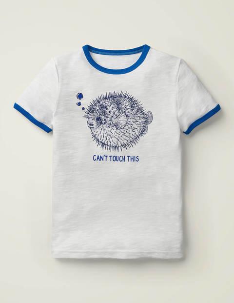 T-Shirt mit Meereskreaturenmotiv