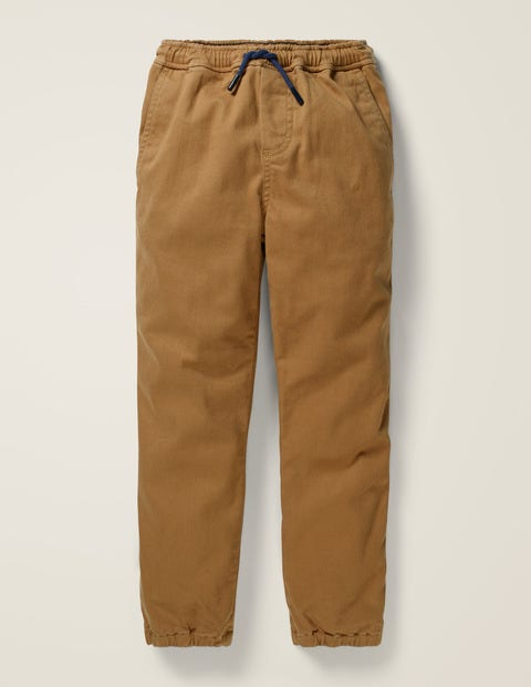 Pull-On Joggers - Rustic Brown
