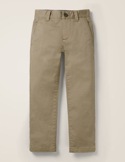 Chino Stretch Trousers - Nutty Brown