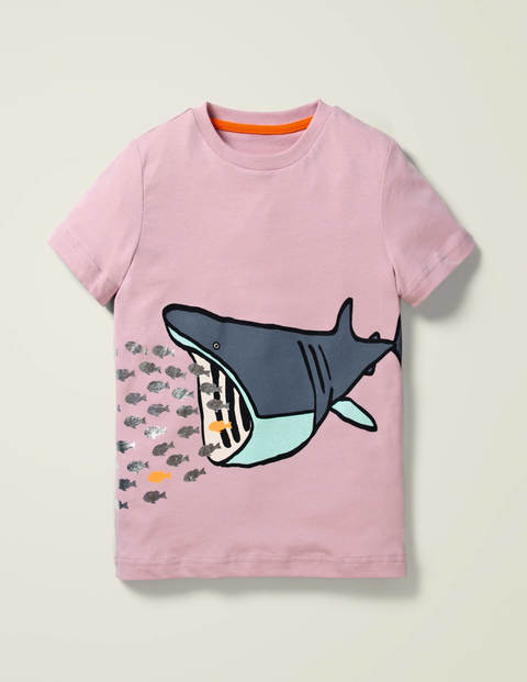 Printed Sea Creature T-shirt