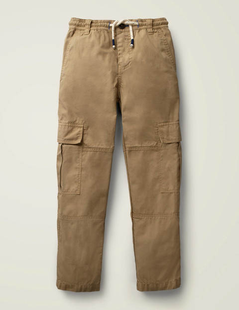 Utility Cargo Pants - Cappuccino Brown
