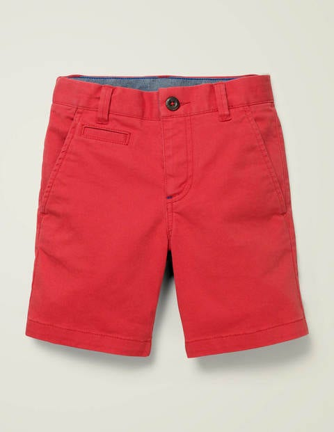 Short chino - Rouge tomate cerise