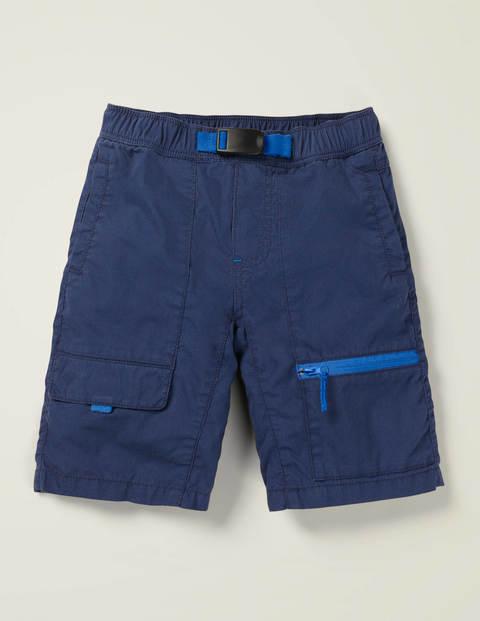 Techno-Shorts Zum Hineinschlüpfen - Schuluniform-Navy