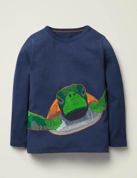 Superstitch Sealife T-shirt - College Navy Turtle