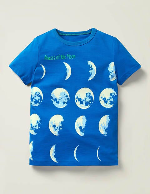 Glowing Planet T-Shirt - Duke Blue Planets