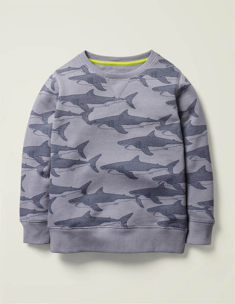 Under-The-Sea Sweatshirt - Blue Grey Sharks